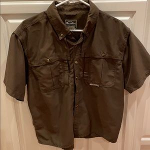 Drake waterfowl button down shirt